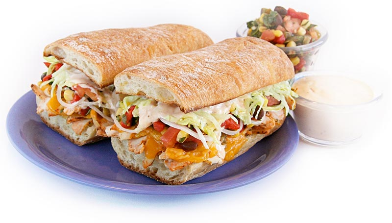Made with chicken that is oven roasted, seasoned and sliced, all white ...