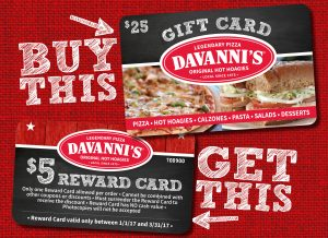 Davanni's coupon code