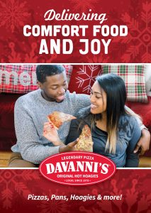 Davanni's is delivering comfort food and joy this holiday season.